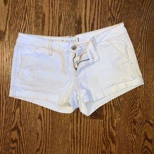 Bullhead white shorts